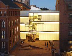 Higgins Hall- Stevel Holl, NYC