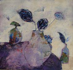 Lilac still life by judy thorley