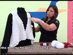 Bolero  Luana em trico  com Cisne Aya