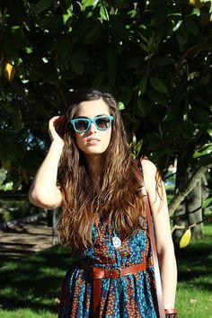 Ray Ban Sunglasses, Siempreesviernes Dress
