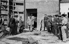 Черчиль и Трумен посещают захваченный «Фюрербункер»