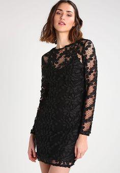 Pedir  Topshop Vestido de cóctel - black por 55,95 € (2/02/17) en Zalando.es, con gastos de envío gratuitos.