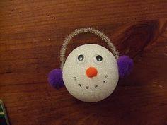 Styrofoam-Ball-Snowman