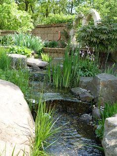 Bachlauf: Mediterraner Garten Von Gärten Für Auge Und Seele