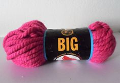 Items similar to Lion Brand Big Wool Blend Super Bulky Yarn in Pink on Etsy Cheap Yarn, Big Wool, Super Bulky Yarn, Lion Brand, Wool Blend, Trending Outfits, Unique Jewelry, Handmade Gifts, Pink