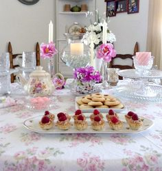 Wonderful tea party ideas for the upcoming MOTHER'S DAY