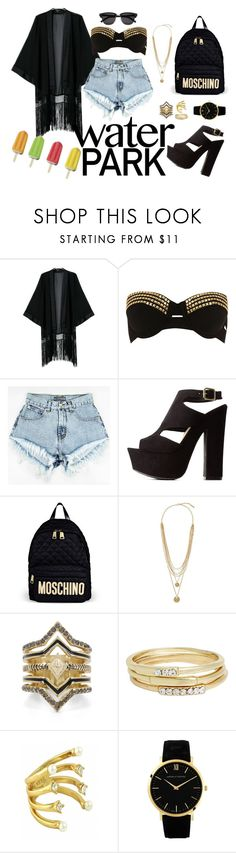 """""""Senza titolo #103"""" by liillaaaaaaaa ❤ liked on Polyvore featuring Pacha, Charlotte Russe, Moschino, Vince Camuto, BCBGeneration, Jules Smith, CC SKYE, Larsson & Jennings and Yves Saint Laurent"""
