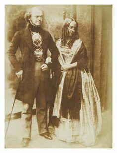 Sheriff Munro & his daughter, 1845 Edinburgh by David Octavius Hill,  http://www.capitalcollections.org.uk/