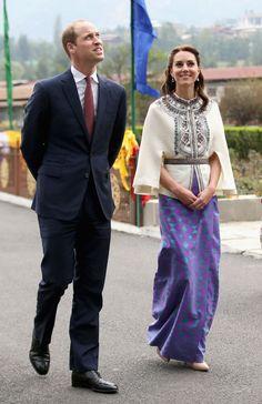 Kate Middleton usa traje típico e pratica arco e flecha no Butão                                                                                                                                                      Mais