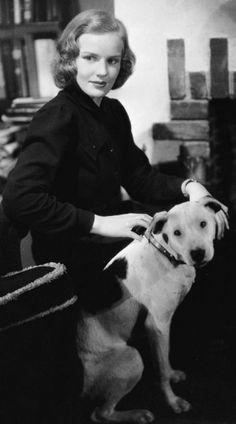 Frances, animal lover.