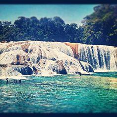 Cascadas de Agua Azul, Chiapas, México. Albo, 2012.