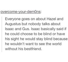 Yes, isaac's eulogy made me cry like hell
