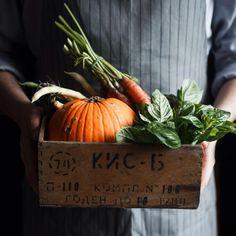 "oldfarmhouse: ""・・・""Autumn is coming! I am waiting these orange days, I really love rain and wind! Via Berryland "" Love Rain, Slow Food, Fall Harvest, Harvest Season, Harvest Time, Harvest Moon, Autumn Garden, Fruits And Vegetables, Veggies"