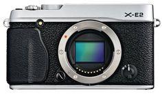 Fujifilm X-E2 Mirrorless Digital Camera (Silver Body Only) (International Model no Warranty)