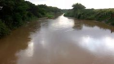 The iMfolozi River is flowing after recent rains. Good solid mud filled water entering the Estuary. No sediment traps or sediment management prepared. Wetland Park, January, River, Outdoor, Outdoors, Outdoor Games, The Great Outdoors, Rivers