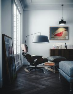 """De #Eames #Lounge #Chair is een echte #designicon!"""