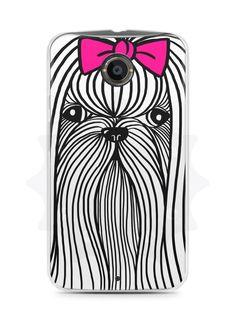 Capa Capinha Moto X2 Cachorro Chitzu - SmartCases - Acessórios para celulares e tablets :)