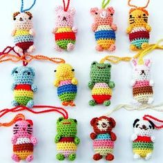 Mini Crocheted Animals