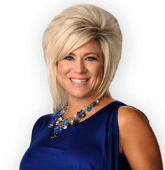 Theresa Caputo - Long Island Medium. This woman is delightful - so unguarded.