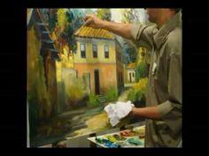 DVD vídeo aula-passo a passo- Os segredos da Pintura Espatulada - Cido Oliveira - YouTube