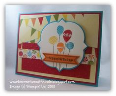 Patterned Party by nwt2772 - Cards and Paper Crafts at Splitcoaststampers