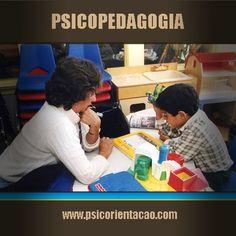PSICOPEDAGOGIA – Estudo das dificuldades de aprendizagem.        Atuação: Área clínica, educação continuada, orientação pedagógica, recursos humanos