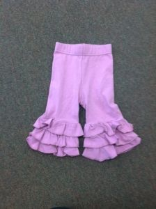 21 Swanky Baby Vintage Triple Ruffle Leggings Sugar Plum