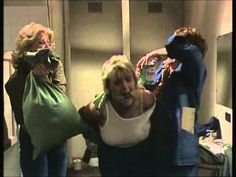 Prisoner: Cell Block H - Margo's Tar and Feathering by Amanda Muggleton, Val Lehman and Jane Clifton Tv Series Free, Tv Series Online, Wentworth Prison, Season 12, Vintage Tv, Movie Tv, Characters, Actors, Music