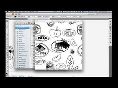 Creating a Pattern Tile in Adobe Illustrator - YouTube