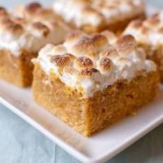 Sweet Potato Dream Bars Recipe