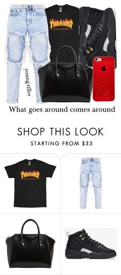 """new setup ... i think"" by young-tiller ❤ liked on Polyvore featuring Givenchy and NIKE"