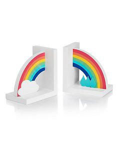 Rainbow Bookends | M&S