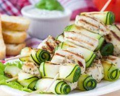 Brochettes de dinde et courgette grillées au barbecue : http://www.fourchette-et-bikini.fr/recettes/recettes-minceur/brochettes-de-dinde-et-courgette-grillees-au-barbecue.html