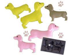 Miniature Clay Mold  Dachshund  Animal Series  by SourceHelper, $23.50