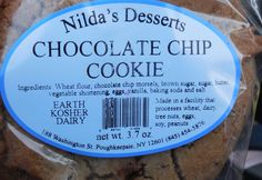 There is nothing like a fresh baked ORIGINAL Nilda's Desserts Chocolate Chip Cookie.  Get some today!!