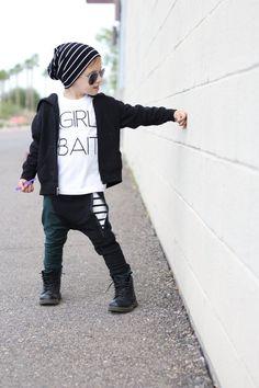 Trendige Kleidung /Hipster Babyjungen Kleidung / grün