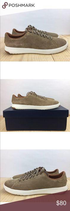Cole Haan Grandpro Tennis Lux Mens Shoes Brand New with Box C24123  Cole Haan Grandpro Tennis Lux Shoes Color: Tan Oil Suede Cole Haan Shoes