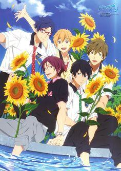 Free! Fanarts Anime, Anime Films, I Love Anime, Anime Guys, Good Anime To Watch, Swimming Anime, Free Eternal Summer, Splash Free, Free Iwatobi Swim Club