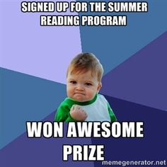 Image result for summer reading meme