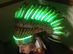 My headdress for Spring Awakening this  summer