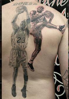 Chicago Bulls Michael Jordan tattoo