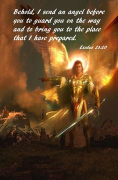 St. Michael, the Archangel and our Guardian angels, protect us!