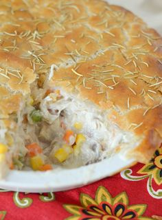 Gluten Free Chicken Pot Pie - Mommy Hates Cooking