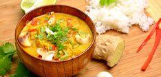 Korma on rikas ja makea kookoksenmakuinen curry Goan osavaltiosta. Korma, Naan, Thai Red Curry, Baking Recipes, Chicken Recipes, Food And Drink, Ethnic Recipes, Indian Style, Foods