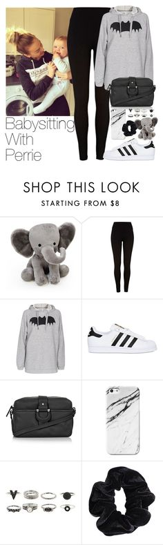 """""""Babysitting With Perrie"""" by zarryalmighty ❤ liked on Polyvore featuring Lambs and Ivy, River Island, Zoe Karssen, adidas Originals, Topshop, Case Scenario, American Apparel, littlemix and perrieedwards"""