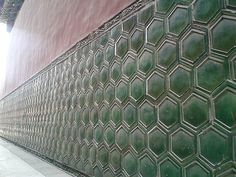 Colored Glaze Wall ( Ypng He Palace, Beijing)