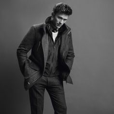 Scott Eastwood fronts the Hugo Boss' Fall/Winter 2014 campaign of Boss Black. Scott Eastwood, Really Hot Guys, Edie Campbell, Boss Black, Hot Actors, Sharp Dressed Man, Lookbook, Fall Winter 2014, Business Fashion