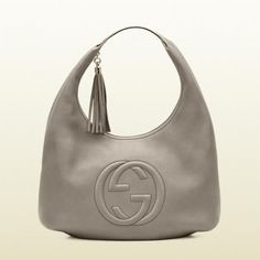 282304 A7m0g 2816 Gucci Soho Fango Farbe Leder Hobo Gucci Damen Handtaschen