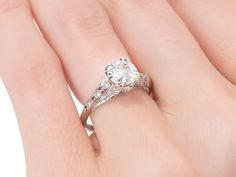 Ask Me Now - Sensational Diamond Engagement Ring - The Three Graces