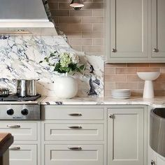 Light Taupe Cabinets, Transitional, kitchen, Design Galleria